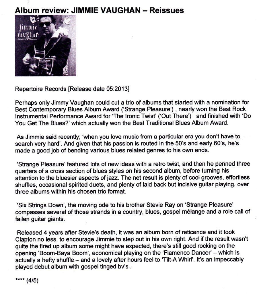 Jimmie-Vaughan-Strange-Pleasure-Get-Ready-To-Rock-March-2013