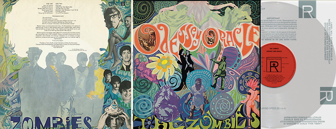 Zombies The Odessey Amp Oracle Repertoire Records