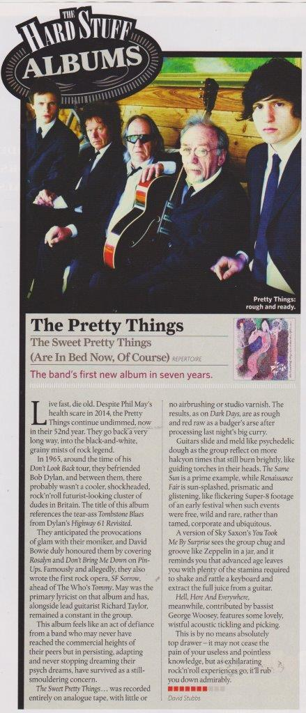 The Pretty Things Classic Rock August 2015