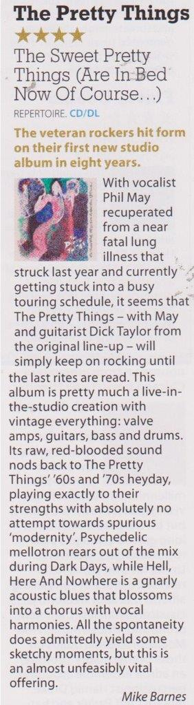 The Pretty Things Mojo September 2015