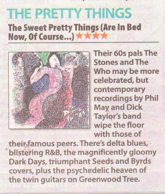 The Pretty Things The Daily Mirror Ticket magazine July 2015