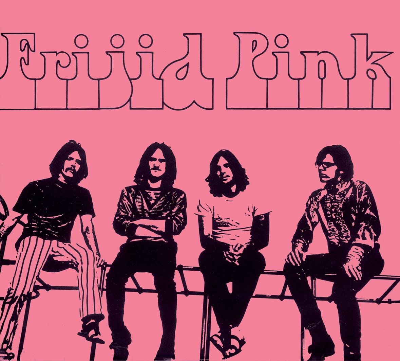 FRIJID PINK Frijid Pink (original debut LP)