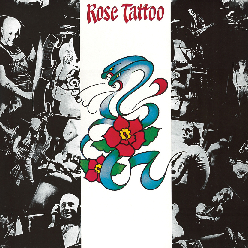 Rose Tattoo – Rose Tattoo LP