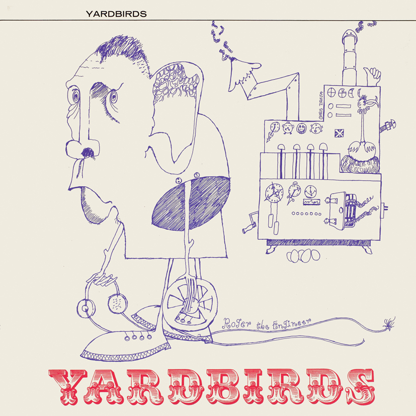 The Yardbirds – Yardbirds (aka 'Roger The Engineer') STEREO LP