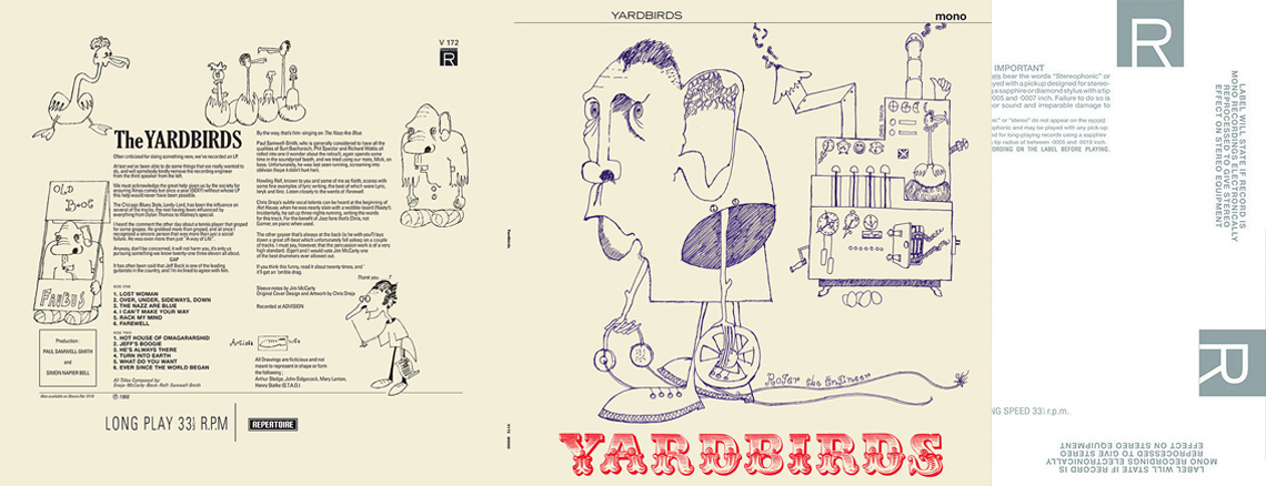 Yardbirds (aka 'Roger The Engineer') MONO LP