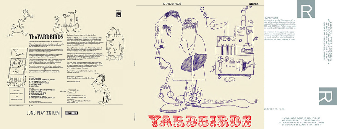 Yardbirds (aka 'Roger The Engineer') STEREO LP