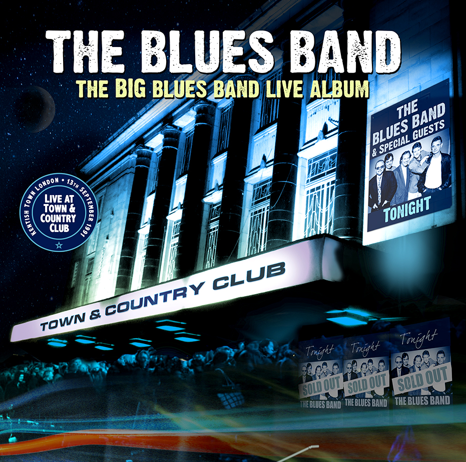 The Blues Band – The Big Blues Band Live Album