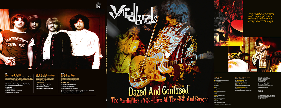 Dazed and Confused: The Yardbirds in '68 – Live At The BBC And Beyond