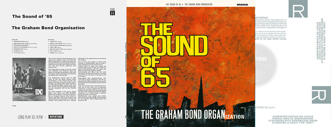 The Graham Bond Organization – The Sound Of 65 (LP)