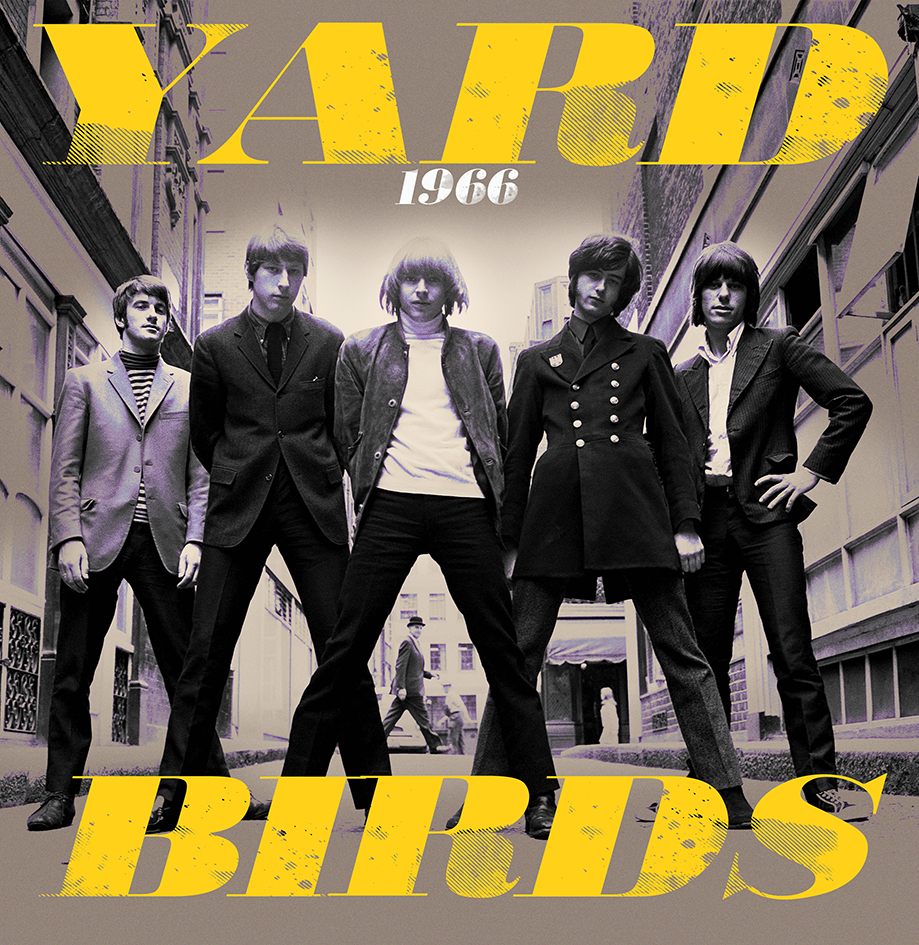 The Yardbirds – 1966 – Live & Rare (LP)