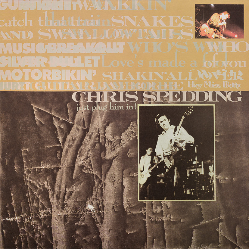 Chris Spedding – Just Plug Him In