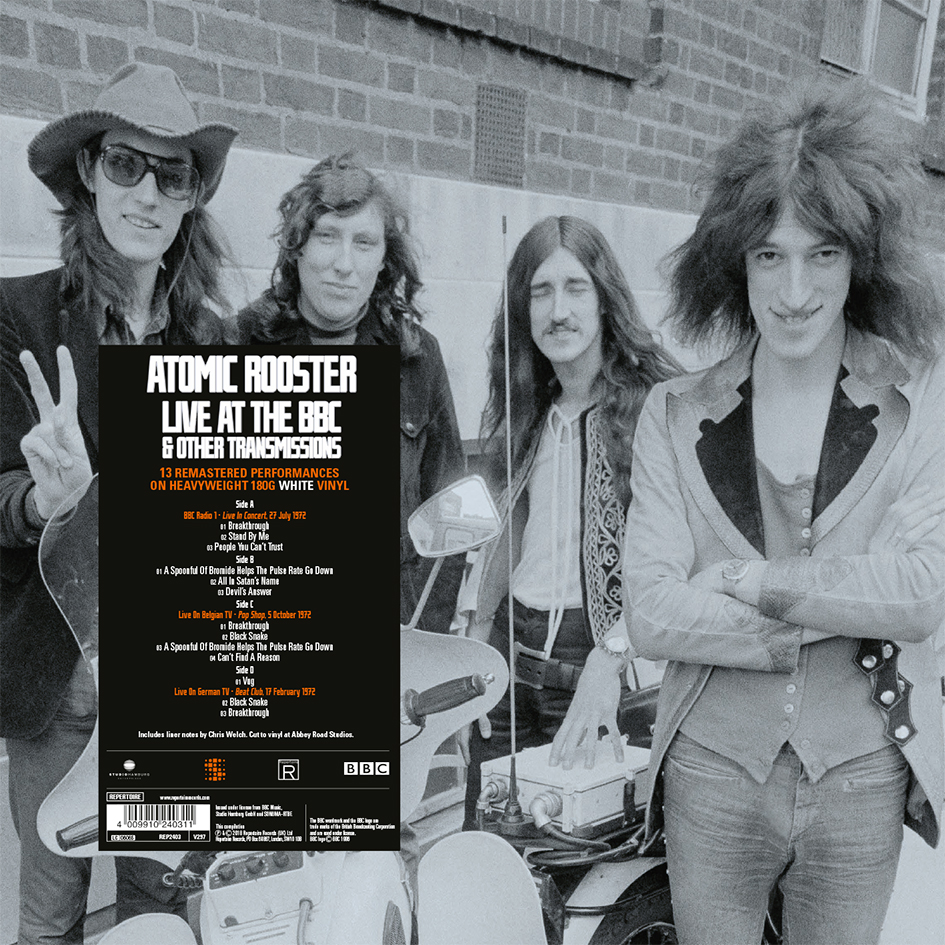 Atomic Rooster – On Air – Live At The BBC  & Other Transmissions (LP)