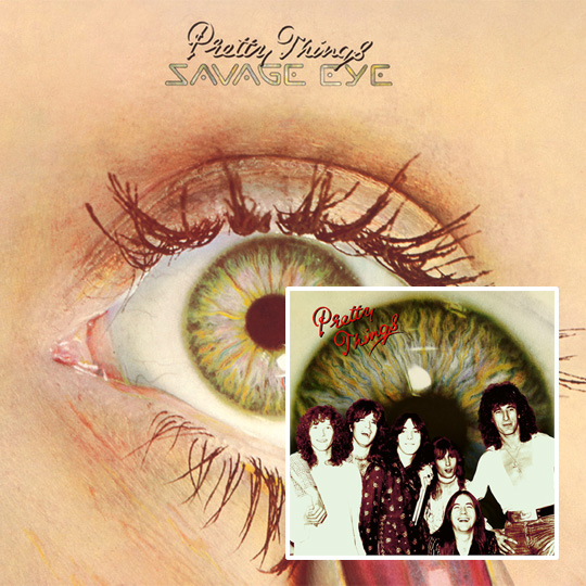 Pretty Things, The – Savage Eye & Live At Ultrasonic Studios 1975
