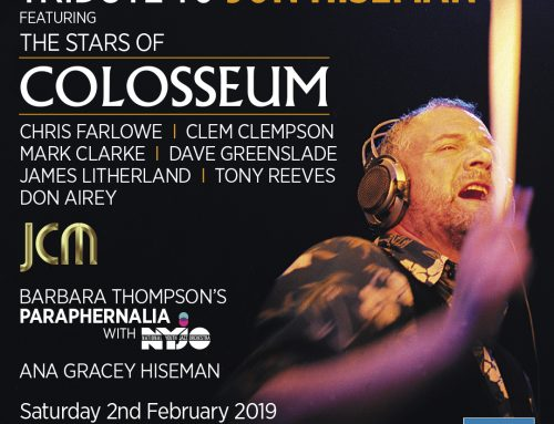 """Tribute to Jon Hiseman"", O2 Shepherd's Bush Empire, 2 February"