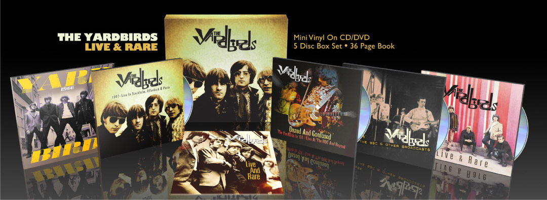 Yardbirds, The – Live & Rare – Limited Edition Boxset Packshot