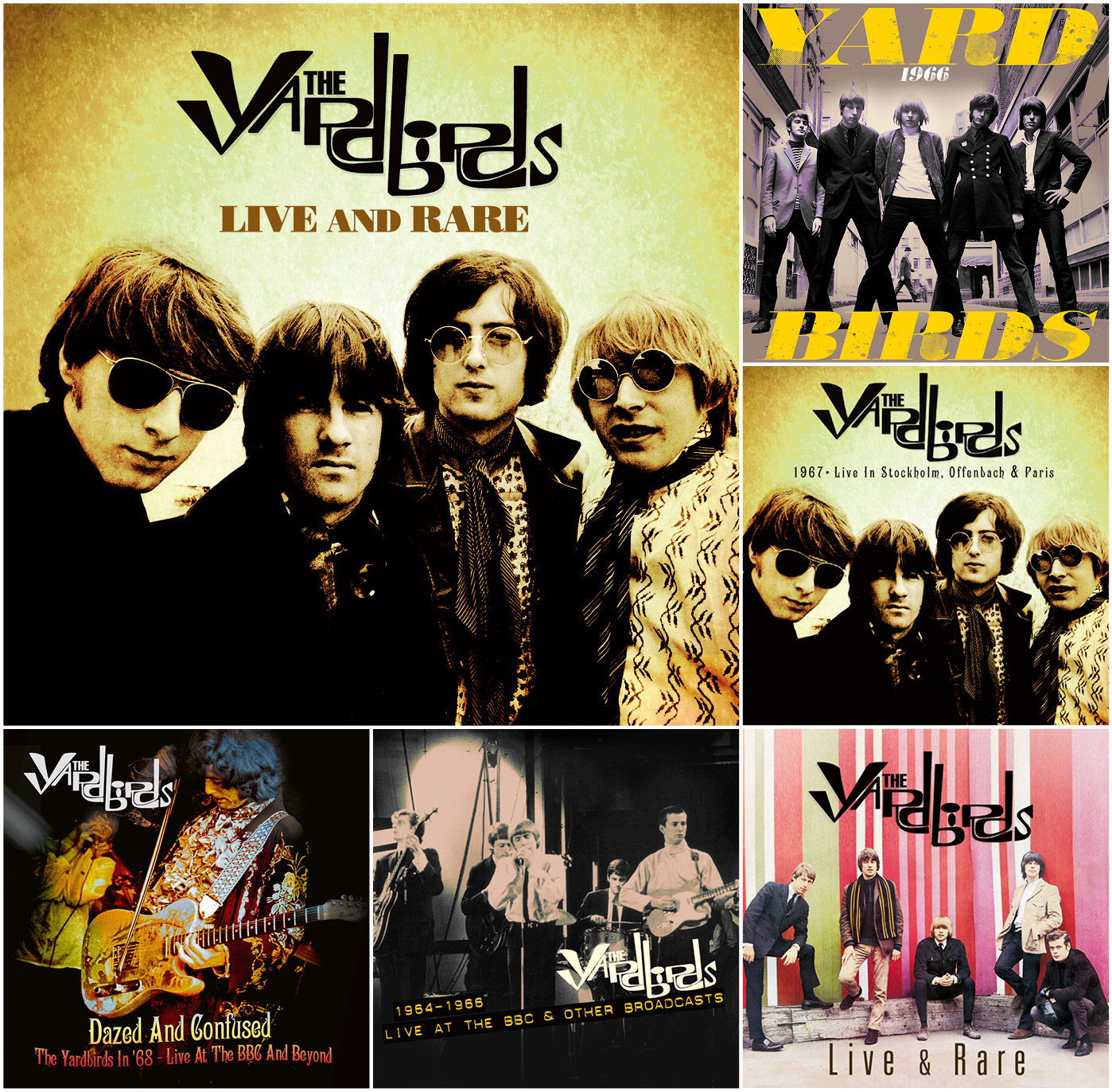 Yardbirds, The – Live & Rare – Limited Edition Boxset