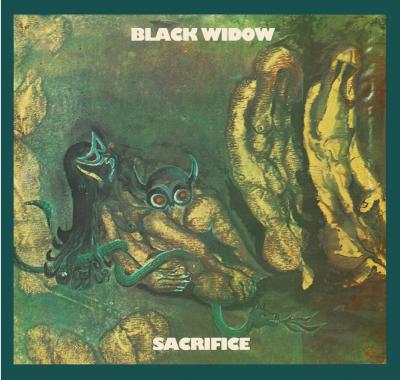 Black Widow - Sacrifice Vinyl Cover