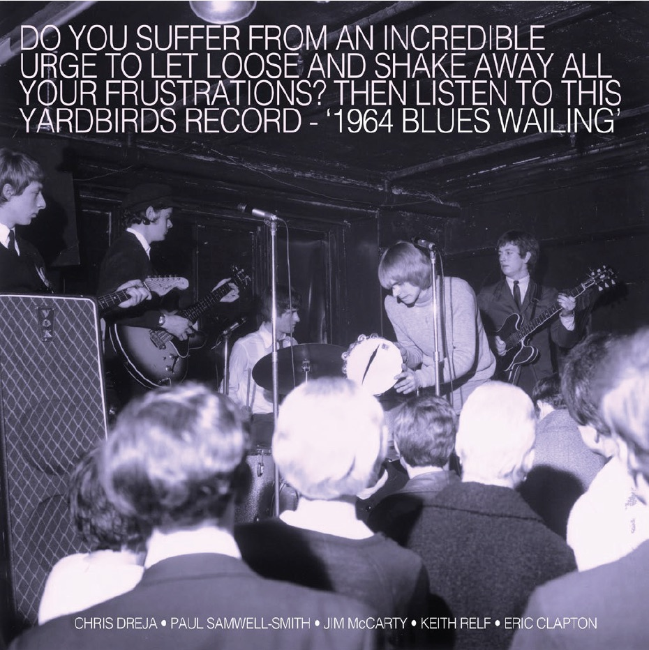 Yardbirds, The – Blues Wailing – Five Live Yardbirds 1964 LP