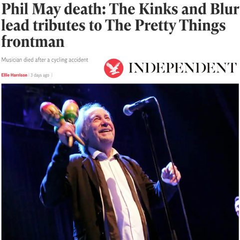 Phil May Obituary - The Independent