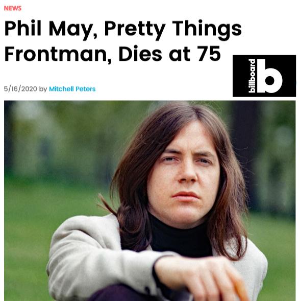 Phil May Obituary - BIllboard