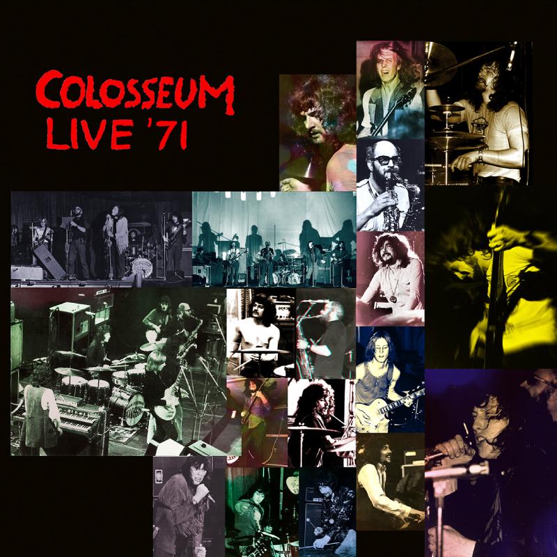 Colosseum – Live '71 Canterbury, Brighton & Manchester