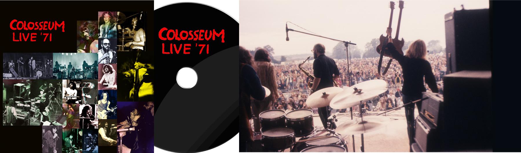 Colosseum – Live '71 Canterbury, Brighton & Manchester Packshot