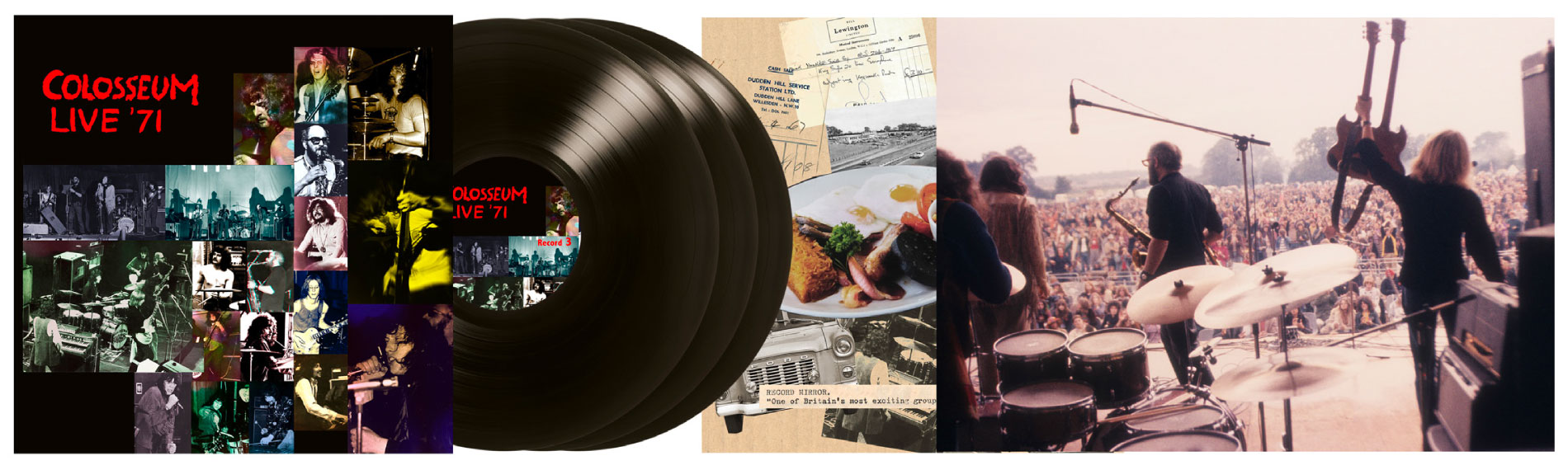 Live '71 Canterbury, Brighton & Manchester